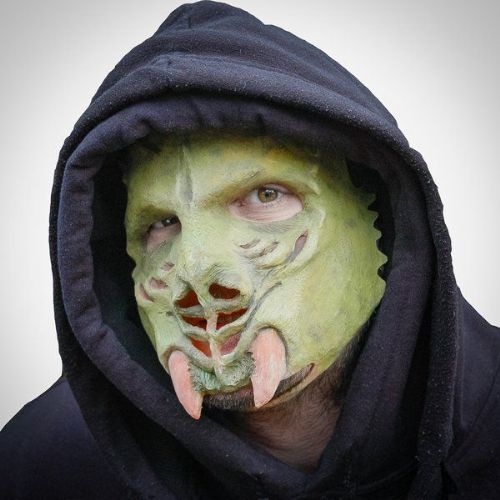 Mask Scary Galactic Invader Halloween Trick Or Treat Spooky